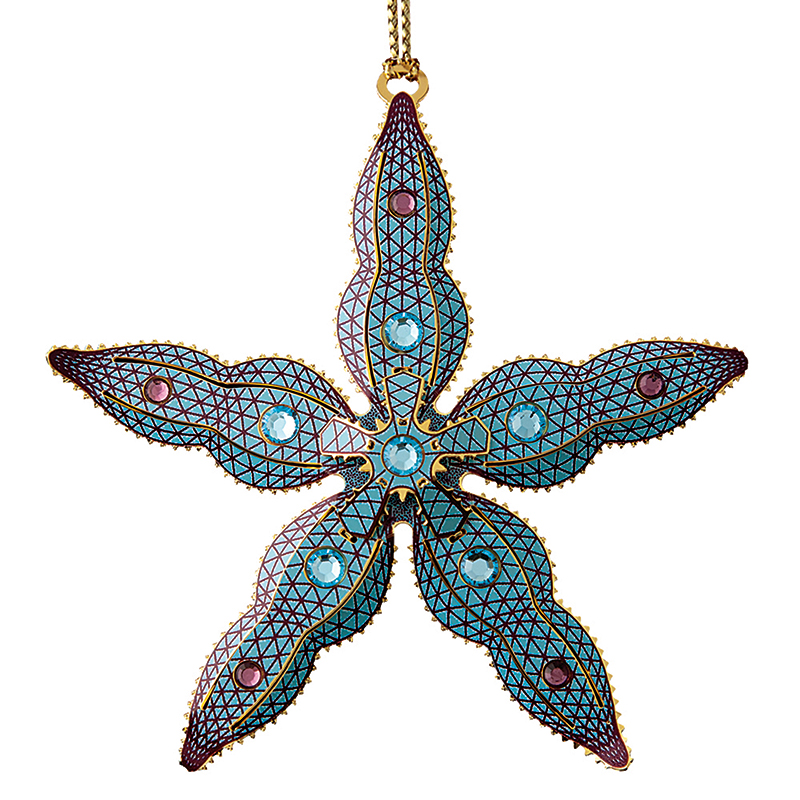 Starfish Christmas Ornament | Chemart Christmas Tree Decoration | Three Kings Design