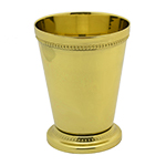 Elegance Silver Silverplate Beaded Mint Julep Cup
