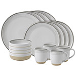 Ellen DeGeneres White Brushed Glaze Dinnerware