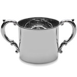 Empire Silver Double Handle Sterling Silver Baby Cup