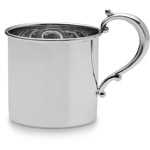 Empire Sterling Silver Classic Plain Heavyweight Baby Cup