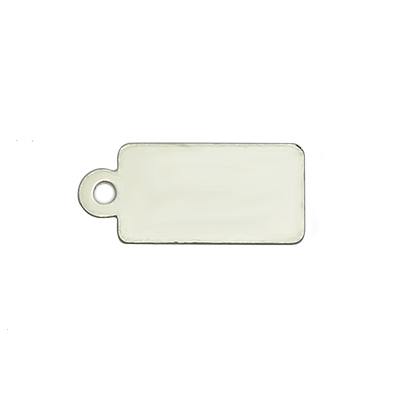 Small Rectangular Engraving Tag