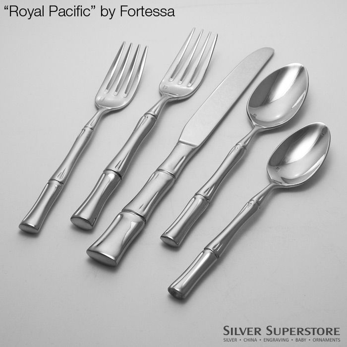 Fortessa Royal Pacific Stainless Steel Flatware Silverware