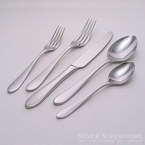 Ginkgo Linden Stainless Steel Flatware Silverware