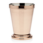 Beaded Copper Mint Julep Cup by Godinger