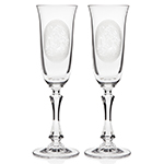 Crystal Classic Toasting Flutes
