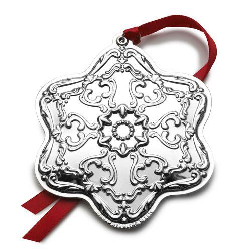 2014 Gorham Chantilly Ball, Annual Silver Ornament ...