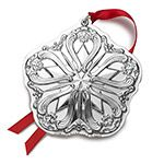 2015 Annual Sterling Silver Repousse Ornament by Gorham