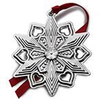 2015 Gorham Snowflake Sterling Silver Christmas Ornament