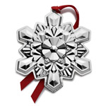 2016 Gorham Snowflake Sterling Silver Christmas Ornament