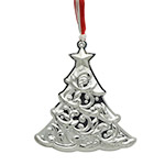 2017 Gorham Christmas Tree Annual Sterling Silver Christmas Ornament, 1st edition ornament