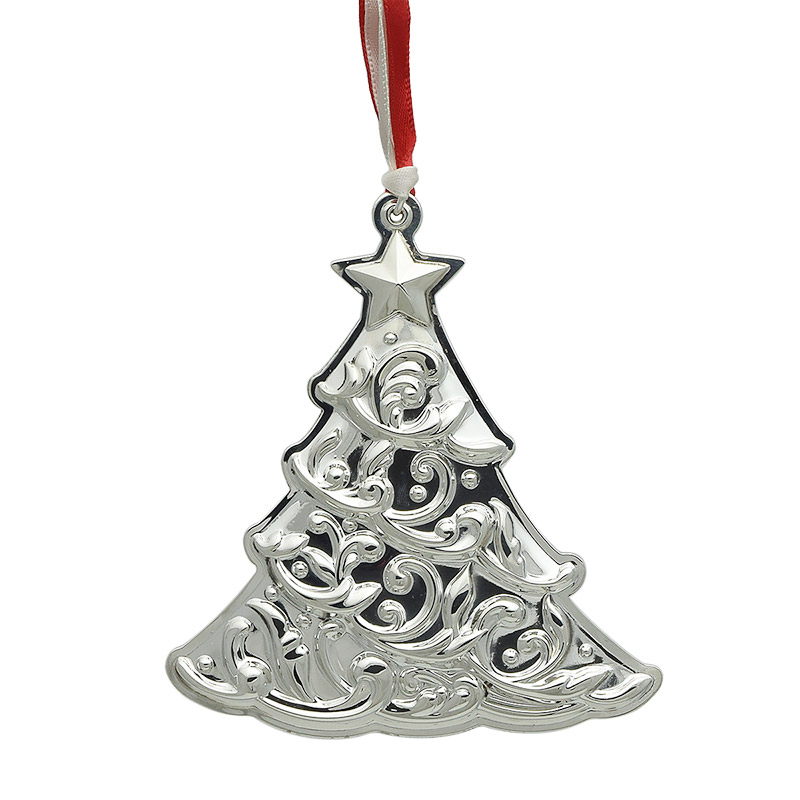 silver christmas tree decoration gorham christmas ornaments 2017 christmas tree
