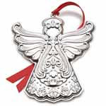 2018 Gorham Chantilly Annual Sterling Silver Christmas Ornament