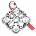 2018 Gorham Annual Cross Sterling Silver Christmas Ornament
