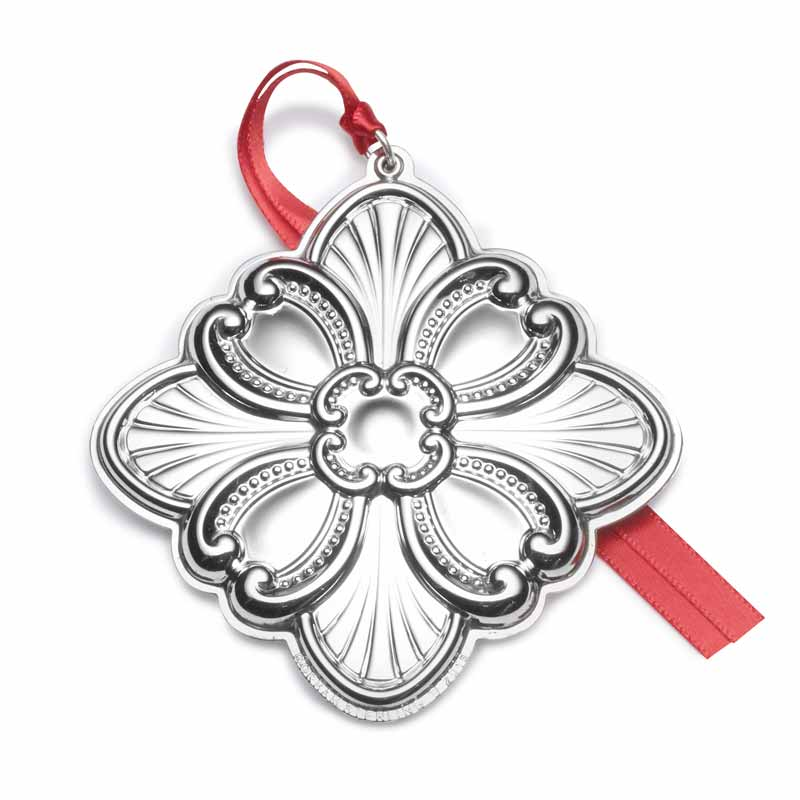 2018 Cross Christmas Tree Decoration | Gorham Ornaments | Religious ornament