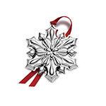 2018 Gorham Snowflake Sterling Silver Christmas Ornament