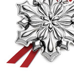 Silver Snowflake Christmas Tree Decoration | Gorham Christmas Ornaments | 2018 Snowflake