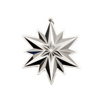2019 Gorham Snowflake Sterling Silver Christmas Ornament