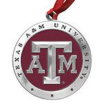 Texas A&M University College Gear Christmas Ornament