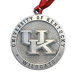 University of Kentucky Pewter Christmas Ornament