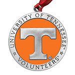 College Gear: University of Tennessee Christmas Ornament