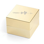 kate spade new york wooden bridal Ring Box