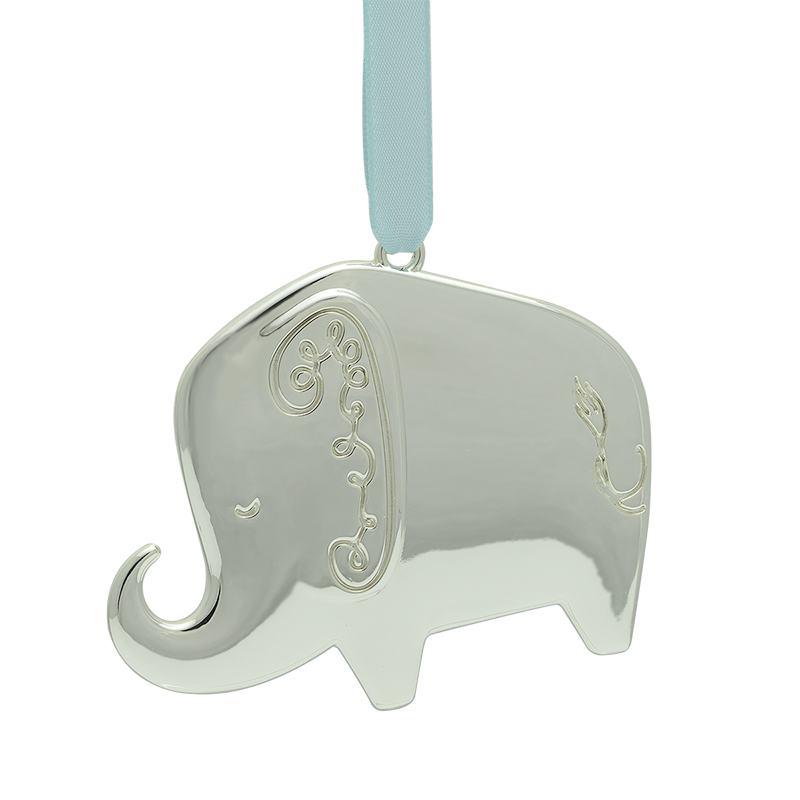 kate spade Baby\'s First Christmas Ornament, Elephant | Silver Superstore