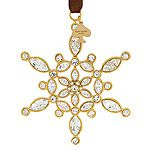 kate spade new york Bejeweled Ice Queen Snowflake Christmas Ornament