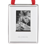 Mr. and Mr. Picture Frame Ornament by kate spade new york