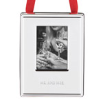 Mr. and Mrs. Picture Frame Ornament by kate spade new york new york