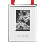 Mrs. and Mrs. Picture Frame Ornament by kate spade new york new york