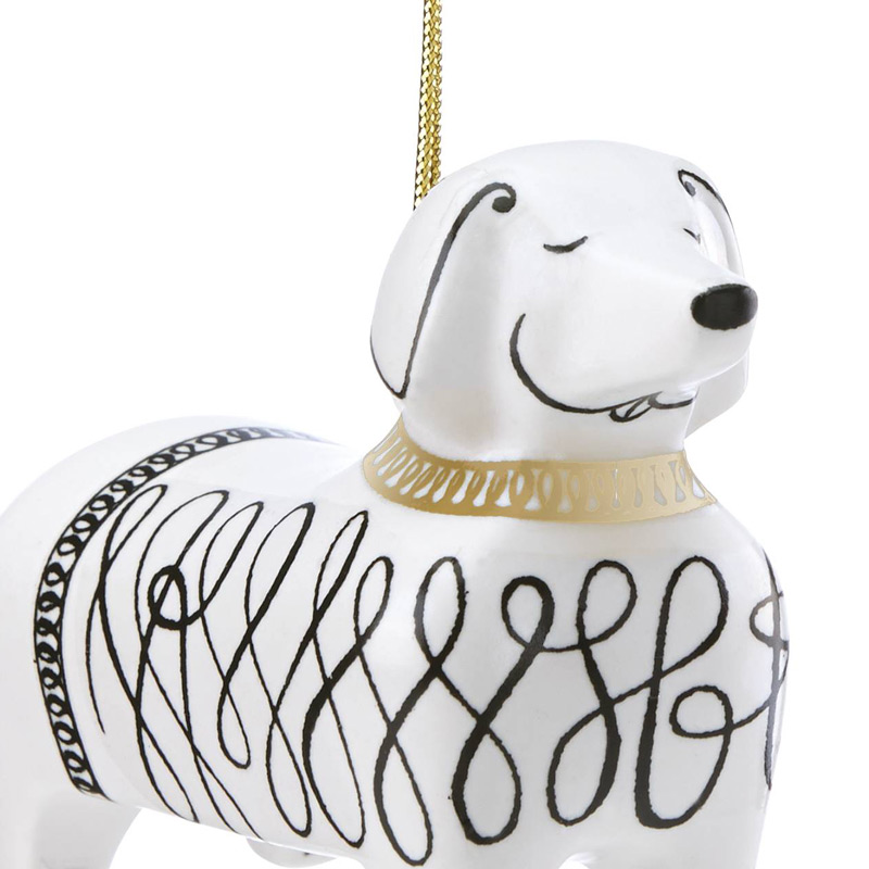 woodland park dachshund kate spade new york ornament dachshund decoration