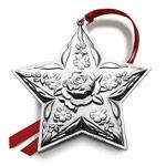 2014 Kirk Stieff Repousse Annual Sterling Silver Christmas Ornament