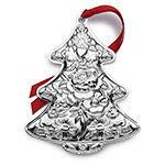 2015 Kirk Stieff Repousse Annual Sterling Silver Christmas Ornament