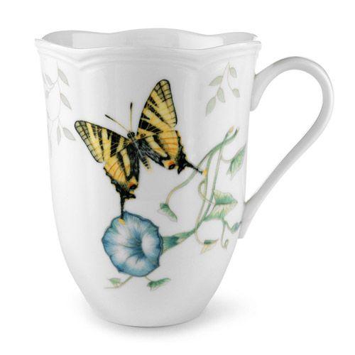 Lenox Butterfly Meadow Tiger Swallowtail Mug, China