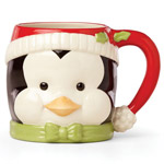 Lenox Hosting the Holidays Penguin Mug