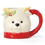 Lenox Hosting the Holidays Reindeer Mug