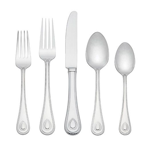 Lenox French Perle Stainless Steel Flatware Silverware