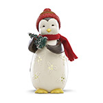 Lenox Merry and Light Lit Penguin figurine