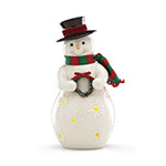 Lenox Merry and Light Lit Snowman figurine