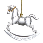 Baby's First Christmas Ornament 2016, Rocking Horse - Lenox Ornaments
