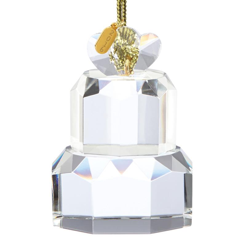 Our First Christmas Ornament 2016, Wedding Cake   Lenox ...