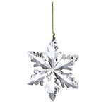 Lenox Optic Snowflake Crystal Ornaments