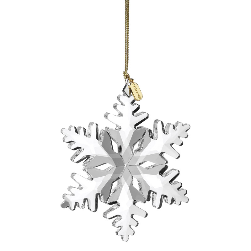 Lenox Annual Ornament, Optic Snowflake 2019