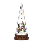 Lenox Glass Snowman Scene Ornament | Lenox Christmas Ornament | Wedding Ornament