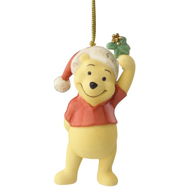2015 lenox kiss me pooh winnie the pooh christmas ornament. Black Bedroom Furniture Sets. Home Design Ideas