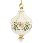 2016 Lenox Holiday Porcelain Christmas Ornament