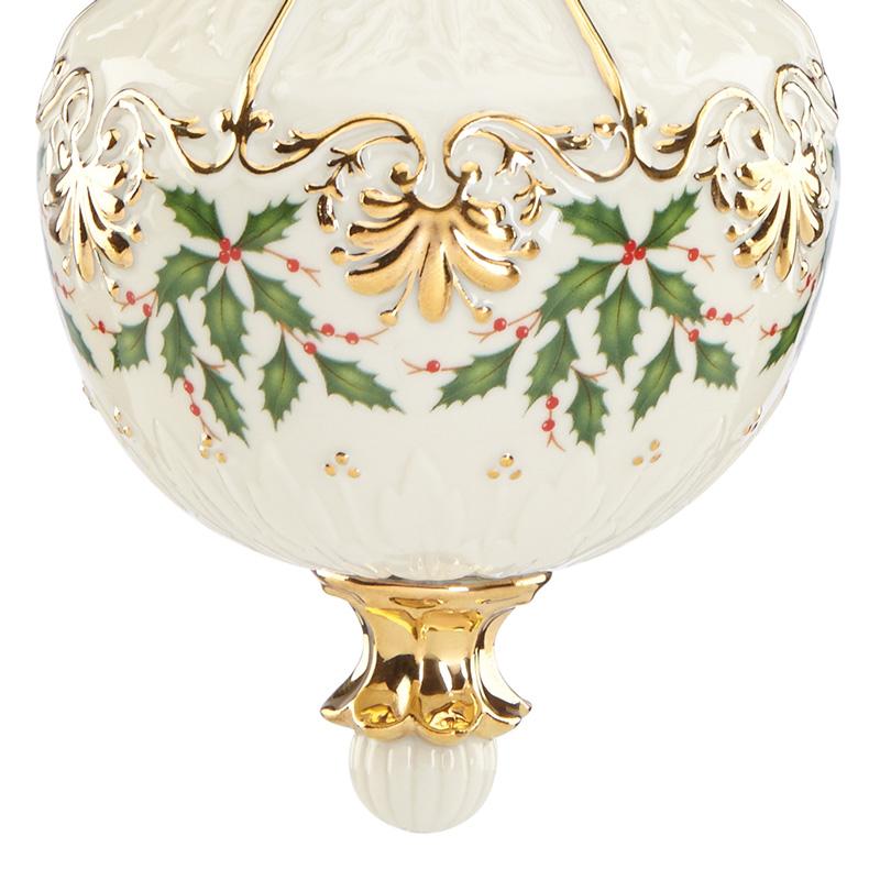 Lenox Annual Holiday Ornament 2016  Lenox Christmas Ornaments