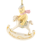 2016 Lenox Pooh's Baby's First Chrismtas Porcelain Decoration