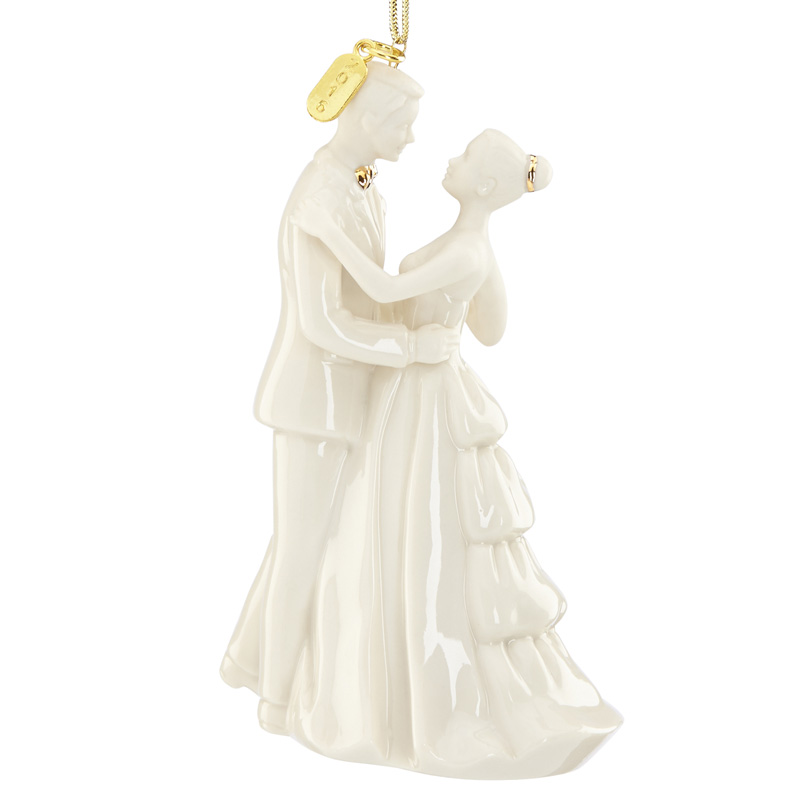 2016 Always And Forever Bride Groom Lenox Christmas Tree Decoration Wedding Gift